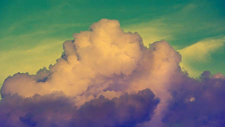 toned: Toned clouds in the sky