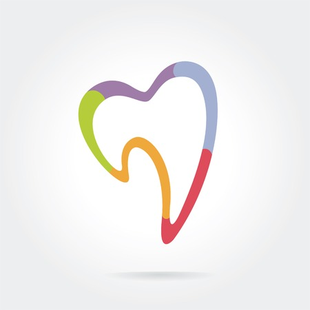smile  teeth: icon isolated