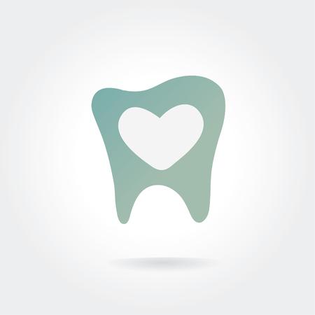 Tooth icon Illustration
