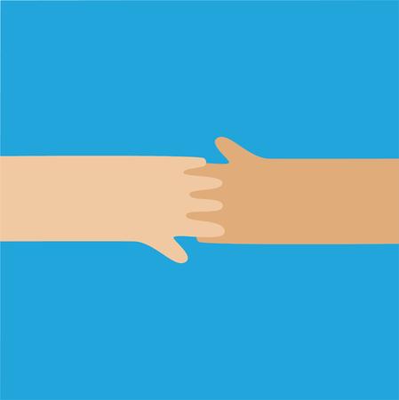 mani che si stringono: Mani icona stringono isolati