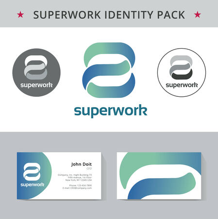 good s: Abstract letter S identity pack vector concept. Vizit cards, and other id blanks. Good for company branding set.
