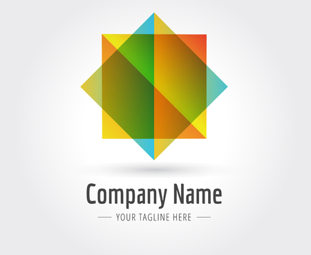 naming: Abstract star vector logo template for branding and design