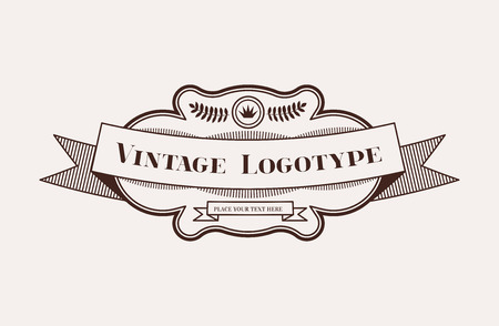 woodtype: Vintage Hipster Design Element