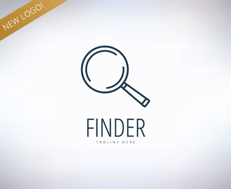 magnify glass: Search vector  element. Find, information, web and lens. Stock illustration for design. Illustration