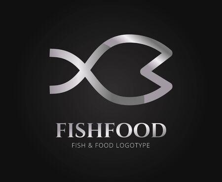 fish: Vector abstracto de los pescados para la marca y el dise�o