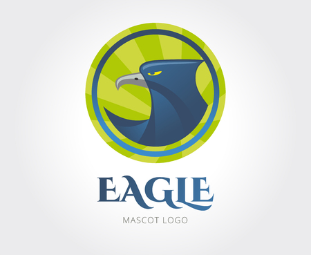 stock image: Abstract eagle   template for branding. Stock image. Stock Photo