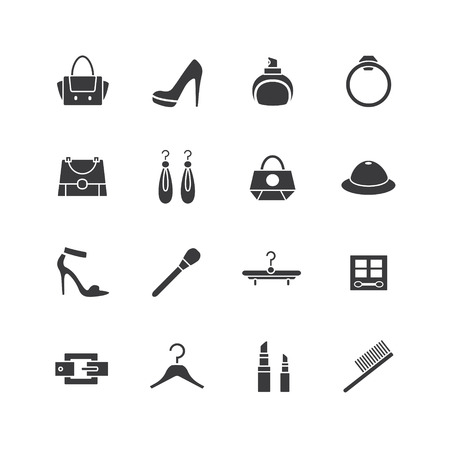 web store: Web store icons set.