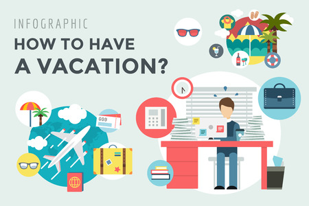 louse: Booking Hotel. Travel infographic. Louse, Building and Search.
