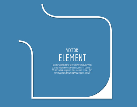 bage: Abstract arrow element. Shape, Isolated, and White. Stock illustration for design Illustration