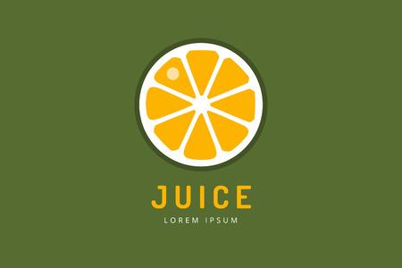 fruit drink: Lime or lemon fruit drink logo icon template design. Fresh, juice, drink, yellow, splash, vegetarian, cold. Stock vector