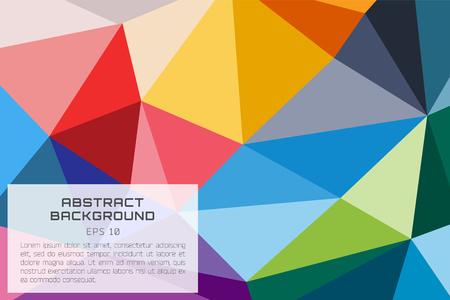 fondo tecnologia: Resumen papel tapiz de fondo vector. Tri�ngulo, l�neas de color, modelo, geom�trico, arte, tecnolog�a fondo de pantalla, la tecnolog�a de fondo. Vectores de la ilustraci�n