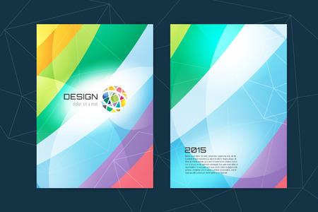 abstract arrow design and creative magazine idea blank book - Book Cover Design Ideas