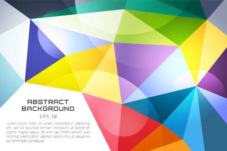 technology wallpaper: Abstract background vector technology wallpaper. Triangle, color lines, pattern and geometric art. Stock vectors illustration