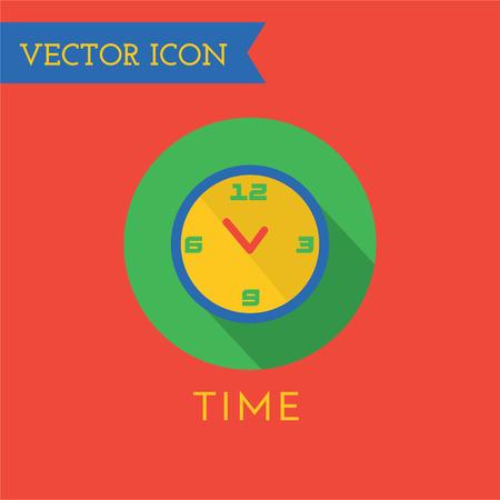 uhr icon: Clock logo icon isoliert. Sehen Objekt, Zeit und B�ro-Symbol. Logo, Video-Logo. Clock-Logo. Uhr-Symbol