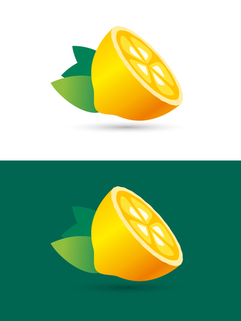 orange slice: Lemon fruit slice