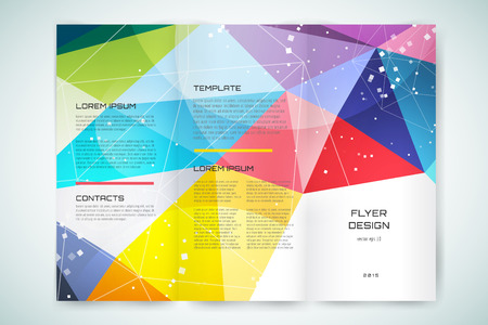 business flyer: Abstract brochure or flyer design template. Book cover design, blank, print design, journal. Brochure design. Brochure template. Flyer design. Flyer template