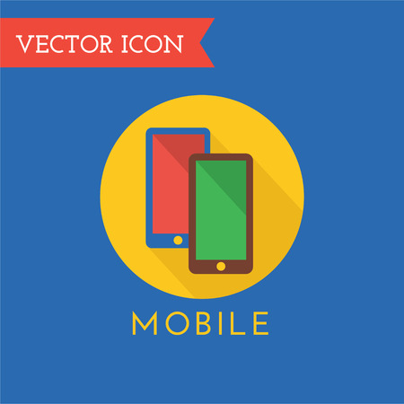 communications tools: Mobile computer icon . Cell, mobile symbol, technology icon, computer tools. Tv icon, web or website. Monitor icon, monitor , cellular Communications and telecommunications