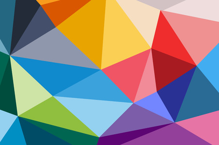 technology wallpaper: Abstract triangle background design. Vector technology wallpaper. Technology background. Triangle pattern, color lines background, geometric art background. Wallpaper pattern. Web background design.