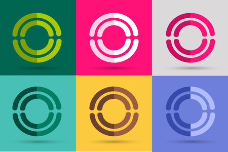 circle design: Technology circle . Orbit rings . Vector circle  design. Abstract circle  template. Round ring shape. Infinity ring symbol, technology circle icon, thin line circle  Company round . Together circle .