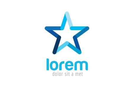Star vector logo. Star icon. Leader boss star, winner, star rating, rank. Star astrology symbol. Starburst logo isolated. Star icon logotype. Sport star logo. Astronomy star logo