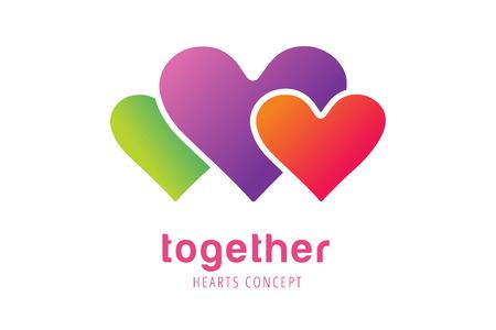 saint valentin coeur: Coeur ic�nes vecteur logo. Logo de coeur, en forme de c�ur. Ensemble notion. Logo ensemble. Logo coeur. Coeur ic�ne. L'amour, la sant� ou le m�decin et les relations symbole. Coeur vecteur logo, cardiaques ensemble ic�nes