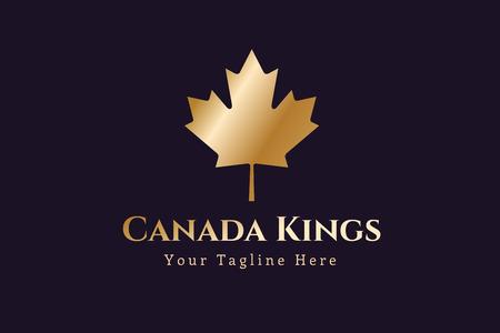canada leaf: Canada leaf  vector template.