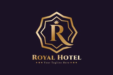Royal  vector template. Reklamní fotografie - 44959101