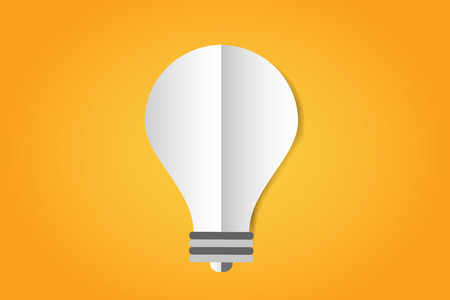 Bulb lamp light idea vector background illustration lamp creative