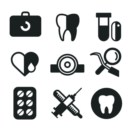 Dentist Office Illustration. Dentist Doctor And Patient With ...