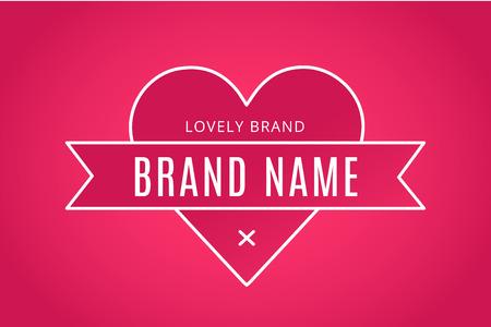 Hart pictogram vector logo. Hart logo hartvorm. Saamhorigheid concept. Samen logo. Hart logo. Liefde, gezondheid en het merk relaties. Hart logo hart samen. Moeder zorg, unie, liefdadigheid Stock Illustratie