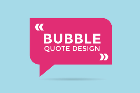 reference: Quote blank template. Quote bubble. Empty template. Quote design, quoting box, text sign reference, paper information template. Quote form. Bubble template vector set. Red quote blank icon isolated