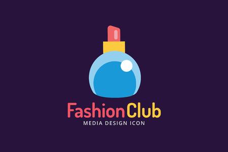 perfumery concept: Perfume bottle sign icon. Glamour perfume symbol isolated. Vector fashion icon. Spa, sales, shopping, perfume bottle icon. Fashion shop sale icon. Vector shop, sale coupons
