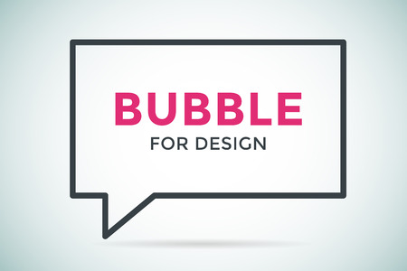 bubble background: Quote bubble vector blank template. Quote bubble icon. Empty bubble template. Quote design, quoting box, text bubble sign, paper information quote template. Quote form. Bubble template set. White quote blank icon isolated Illustration