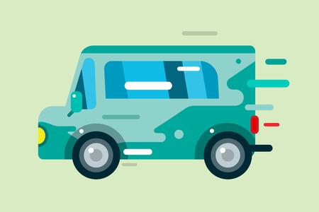 carritos de juguete: Vector de dibujos animados icono del coche. Coche estilo plano simple lindo. Elemento del vector colorido del coche. Unidad Fast colorido coche vectorial. Coche Transporte. Aislado del coche aislado. Autom�vil coche. Historieta del coche del vector del estilo. Aislado icono de coche