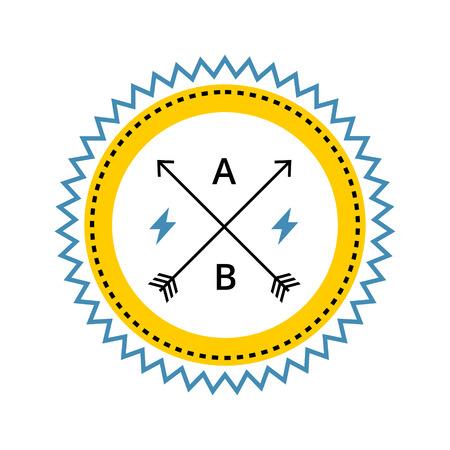 escudo: Vintage icono del escudo de estilo antiguo.