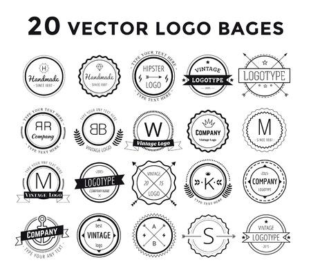 lawyer symbol: Massive logo set bundle.
