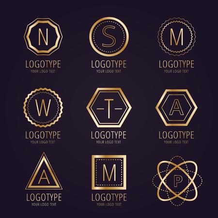 crest: Massive logo set bundle.