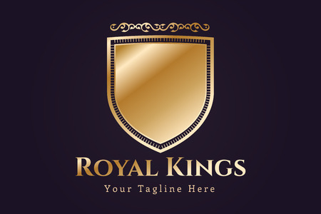 shield logo: Vintage old style shield icon. Shield logo. Vintage shield logo. Lawyer logo, lawyer V letter logo icon,kings royal logo, knight logo, premium quality logo.Shield logo. Royal logo,hotel logo,crest logo