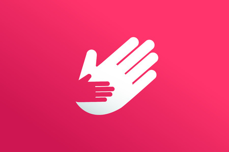 home care: Hands care silhouette