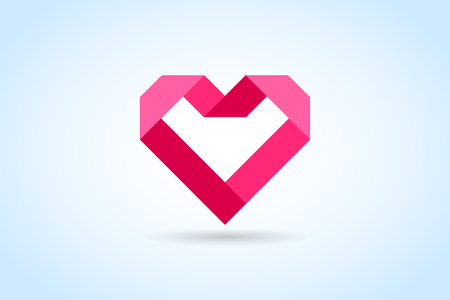 Heart icons vector Vectores