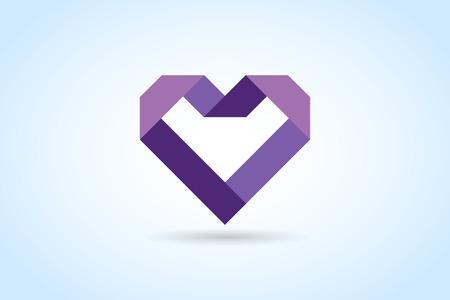 cuore: Icone del cuore di vettore