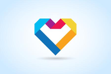 Iconos del corazón del vector Foto de archivo - 46430269