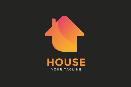 Green house home vector