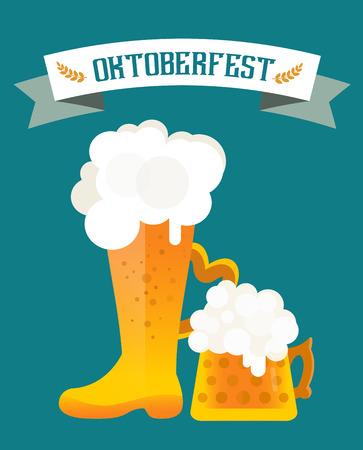 cerveza: Iconos de la cerveza conjunto de vectores. Botella de cerveza, vidrio de cerveza y la etiqueta de la cerveza. Tazas de cerveza silueta, iconos vectoriales cerveza, cerveza aislado. Oktoberfest vector de cerveza establece. Beber cerveza, signo de cerveza, alcohol cervecería Vectores