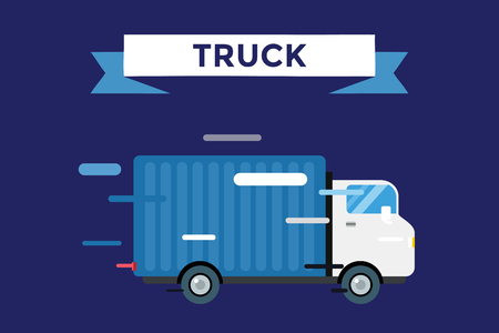 Delivery vector truck. Delivery service van. Delivery van vector silhouette. Delivery car icon. Fast delivery truck isolated. Vector delivery truck car driving fast. Delivery truck vector car. Post, box, freight, shipping