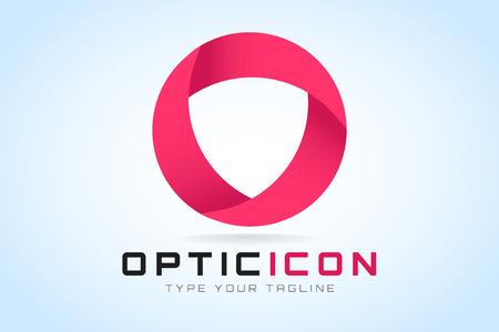 loop: Tecnología icono anillos órbita web. Vector círculo diseño del anillo. Vectores