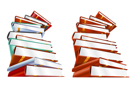 videobook: Book 3d illustration isolated on white