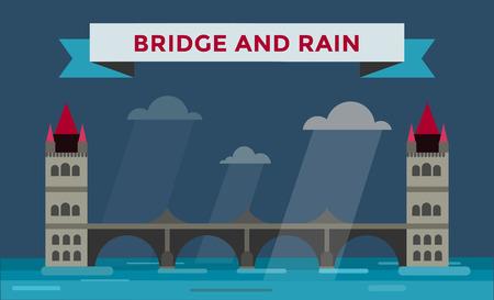 tower bridge: Tower bridge illustration