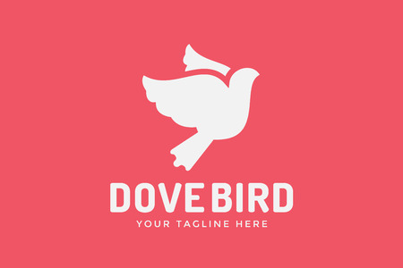 bird icon: Dove logotype