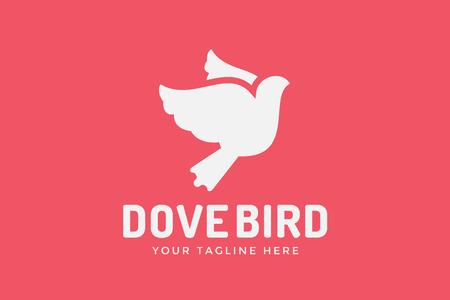 aves: Logotipo de la paloma